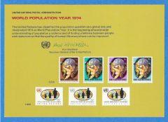 UN 6 Souvenir Card
