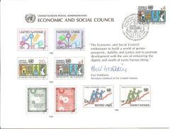 UN18 Souvenir Card FDC - Vienna