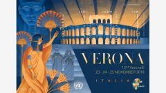 1208 Verona Souvenir Sheet